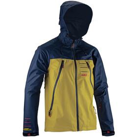 Leatt DBX 5.0 Jacket Men, żółty/niebieski
